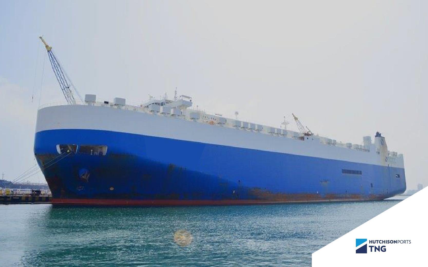Reparación de RoRo a flote