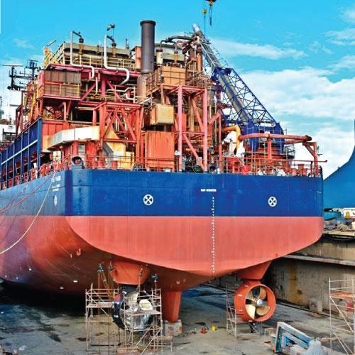 Reparación naval de buque FPSO