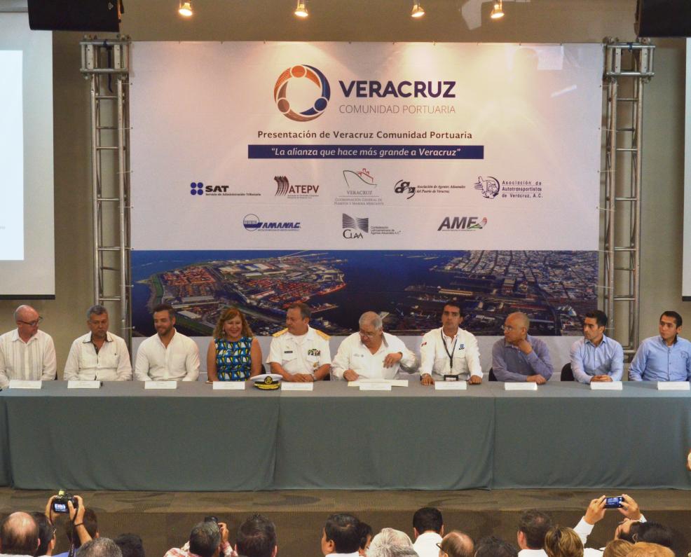 Nace la Comunidad Portuaria en Veracruz