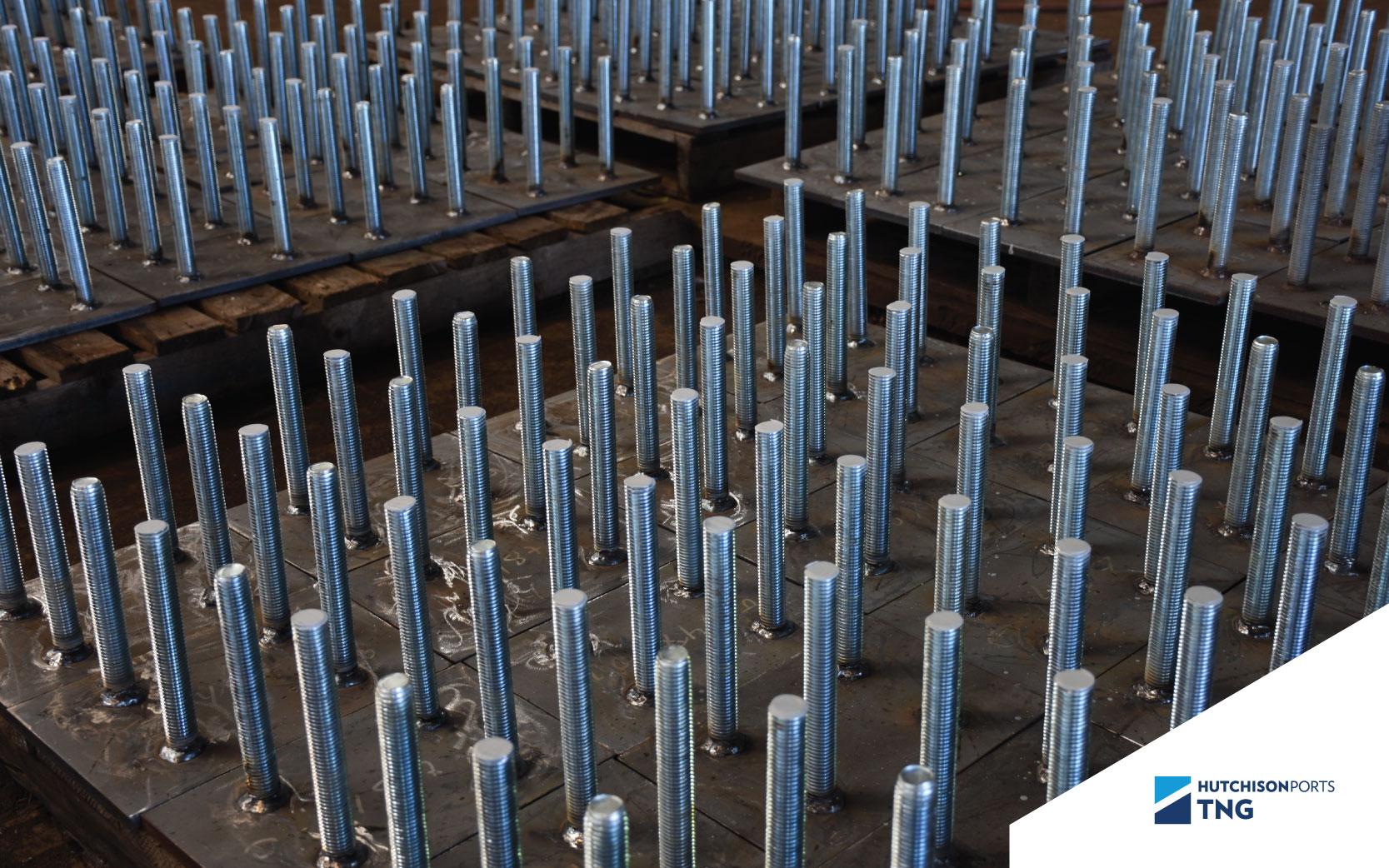 fabricación de parapetos de acero