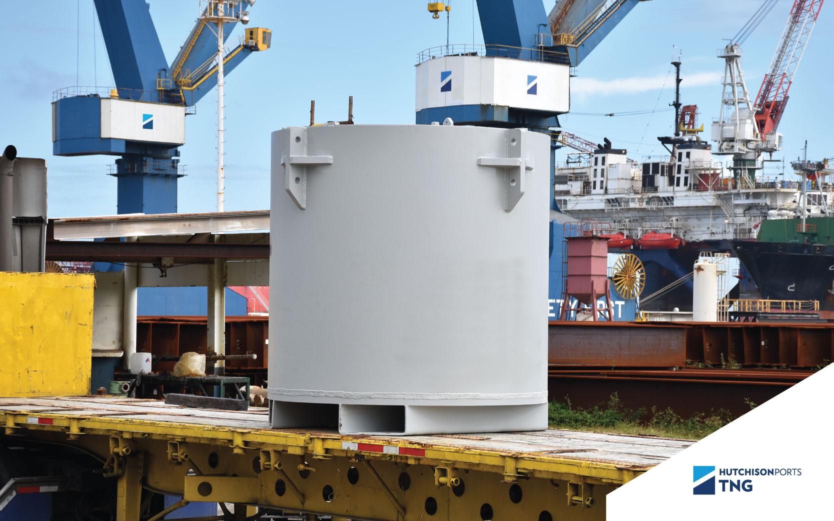 Construcción de tanque para almacenamiento de residuos peligrosos
