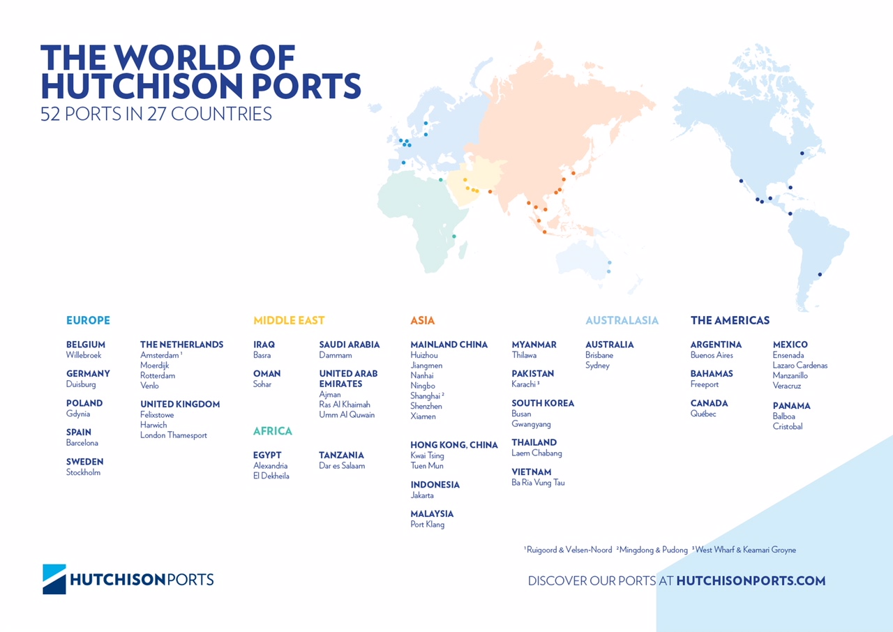 The world of Hutchison Ports