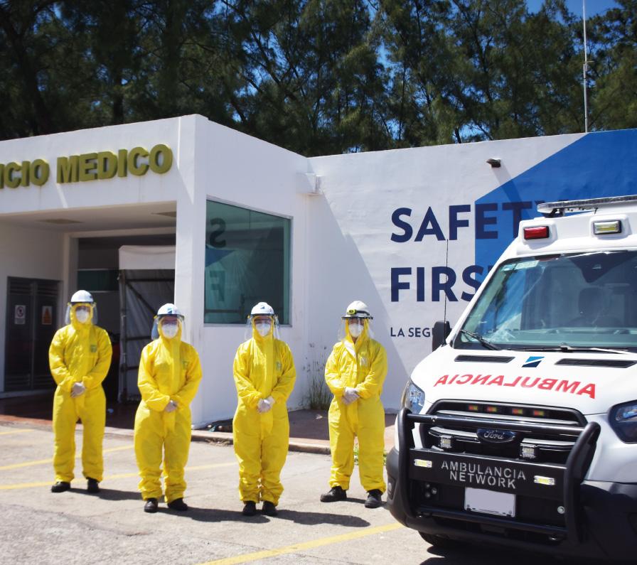 Ante el COVID-19 la seguridad y la salud continúan siendo una prioridad
